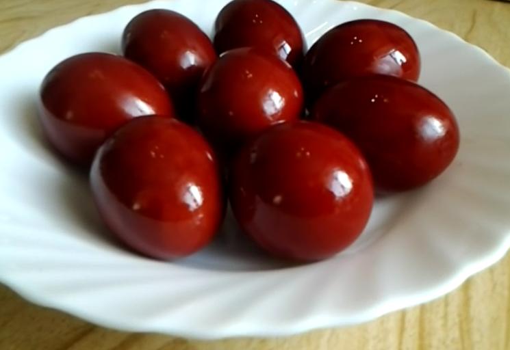 Yumurtaları Boyamak Ne Kadar Güzel Paskalya Için Yumurta Nasıl Ve