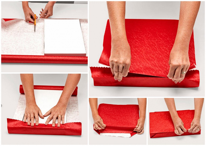 Как красиво упаковать картину как подарок 15