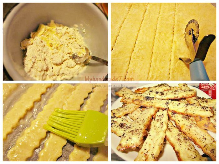 Печенье на скорую руку рецепты из простых пошагово