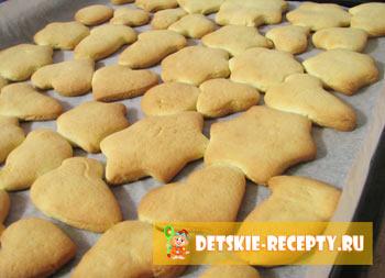 рецепт вкусного печенья из раскатанного теста