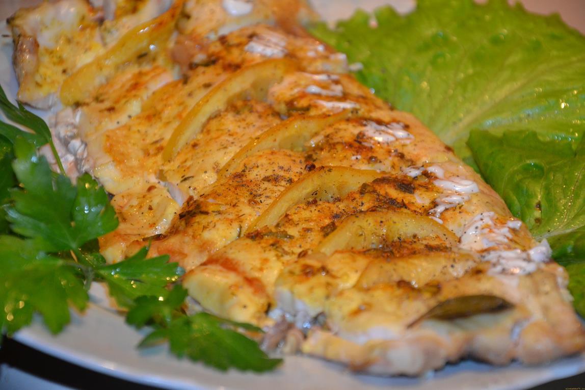 Рыба в духовке под фольгой рецепты