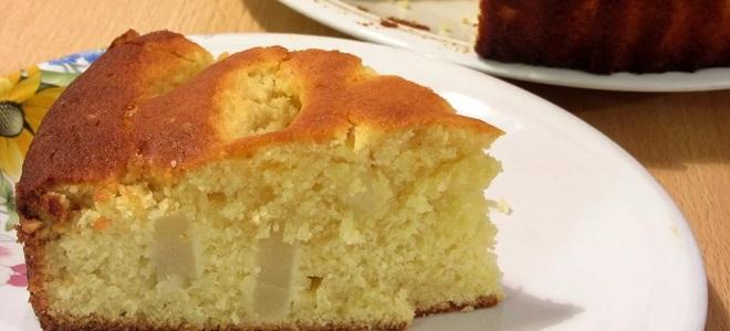 Bir muz ve süzme peynir ile bir multivarque pasta: pişirme sırları 28