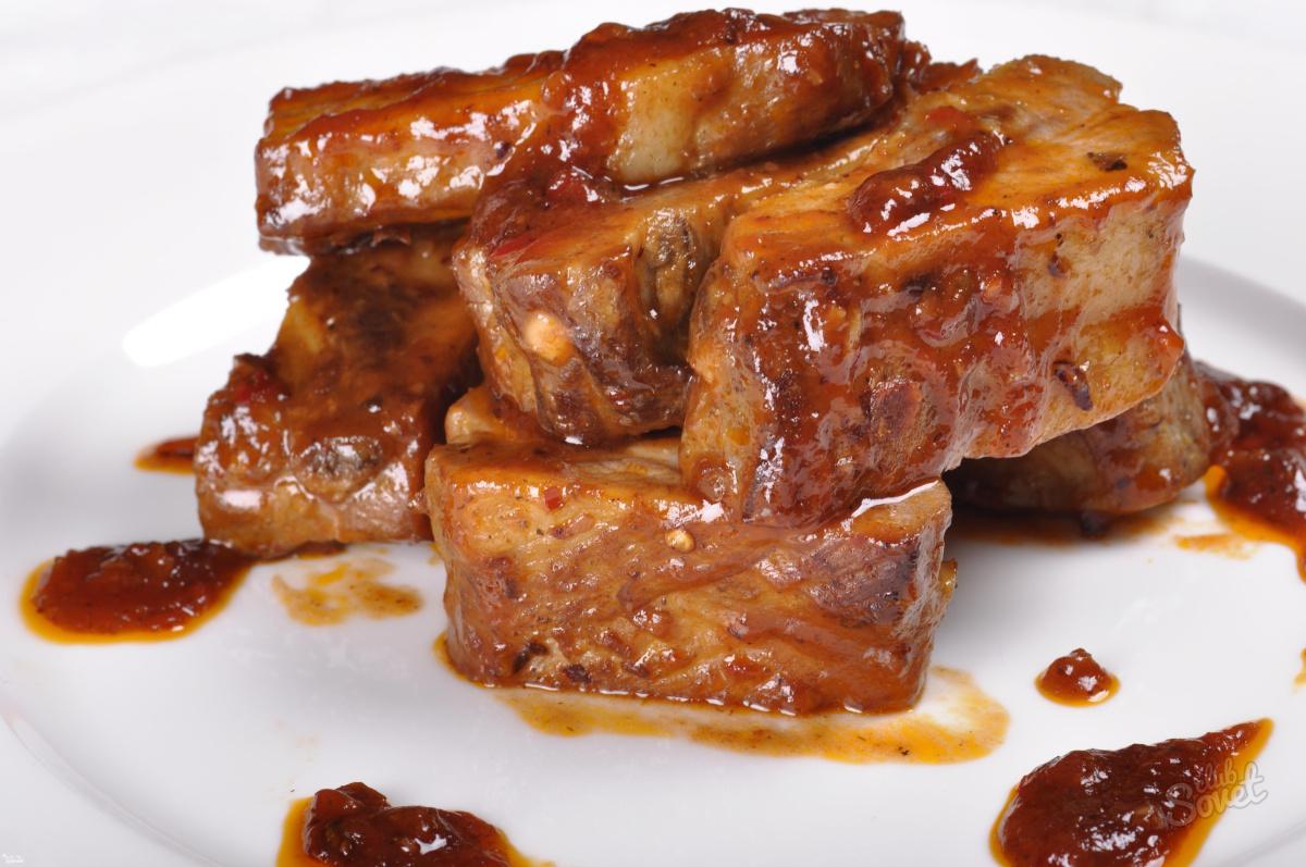 Folyo fırında pişmiş domuz eti ve diğer tarifler
