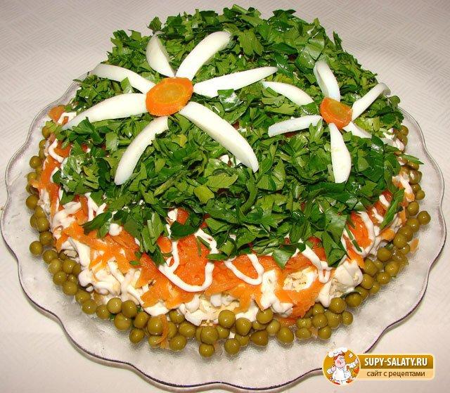 легкий салат на день рождение
